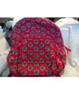 Vera Bradley Campus backpack  in Pink Swirls Floral pattern  - $29.50
