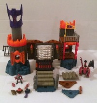 Fisher-Price Imaginext Dragonmont's Fortress Castle Dragon Not Complete RARE HTF - $15.83