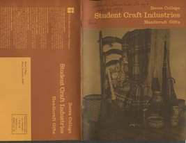 1973 Berea College Student Craft Industries Handcrafted Gifts Catalogue - $11.50