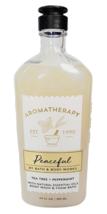 Bath & Body Works Aromatherapy PEACEFUL Body Wash & Foam Bath 10oz New Free Ship - $28.67