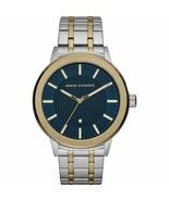 Armani Exchange AX1466 Men's Diamond Series Two Tone Stainless Watch $20... - $78.50