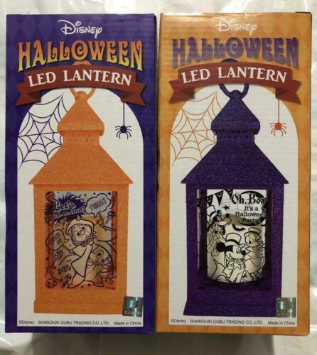 Disney Halloween LED use lantern night lamp Amusement giveaway 2-piece set