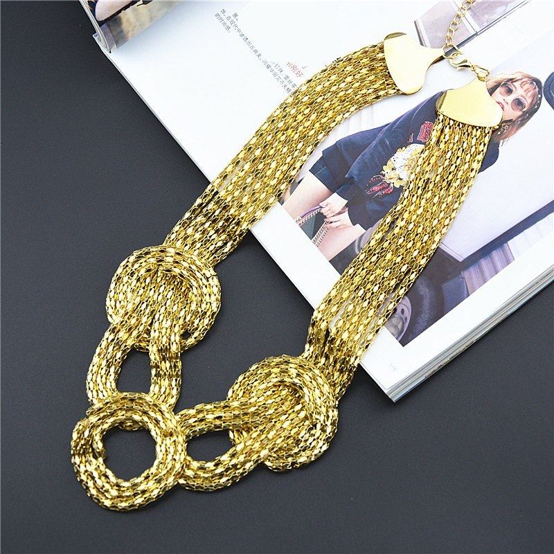 Fashion Collar DIY Multilayer Necklace Choker Necklace Vintage
