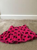 GAP Kids Girls Fleece Skirt Lined Sz 8 Regular MultiColor Polka Dot  - $48.00