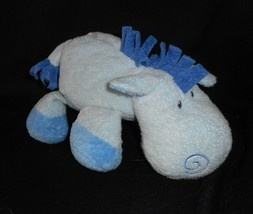 Ty 2008 Pluffies Whinny The Horse Blu Bambino Pony Peluche Peluche Lovey - $21.87