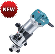 "Makita RT0700C 6.35mm 1/4"" Trimmer 220V 710W Router Tool - Free EMS NEW image 1"