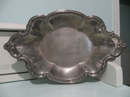 Vintage small silver nut/candy dish made by The International Silver Company - $14.80