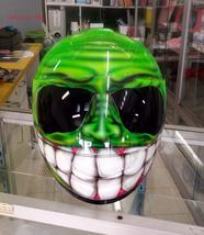 Custom Smiling Face Helmet - $269.00