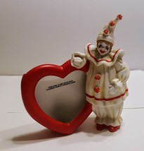 PomPom  Faith Wick Clown Enesco Imports Corp Picture Frame E-3260 @1983  - $16.00