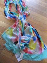 Kate Spade Watercolor Brushstroke Paint Colorfu... - $54.40