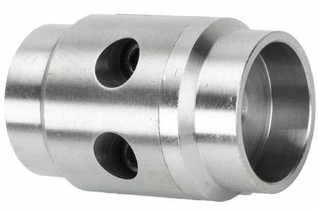 Ruffstuff Tube Coupler, Flat Mount for 2.0 x .120 Wall Tube