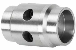 Ruffstuff Tube Coupler, Flat Mount for 2.0 x .120 Wall Tube - $36.00