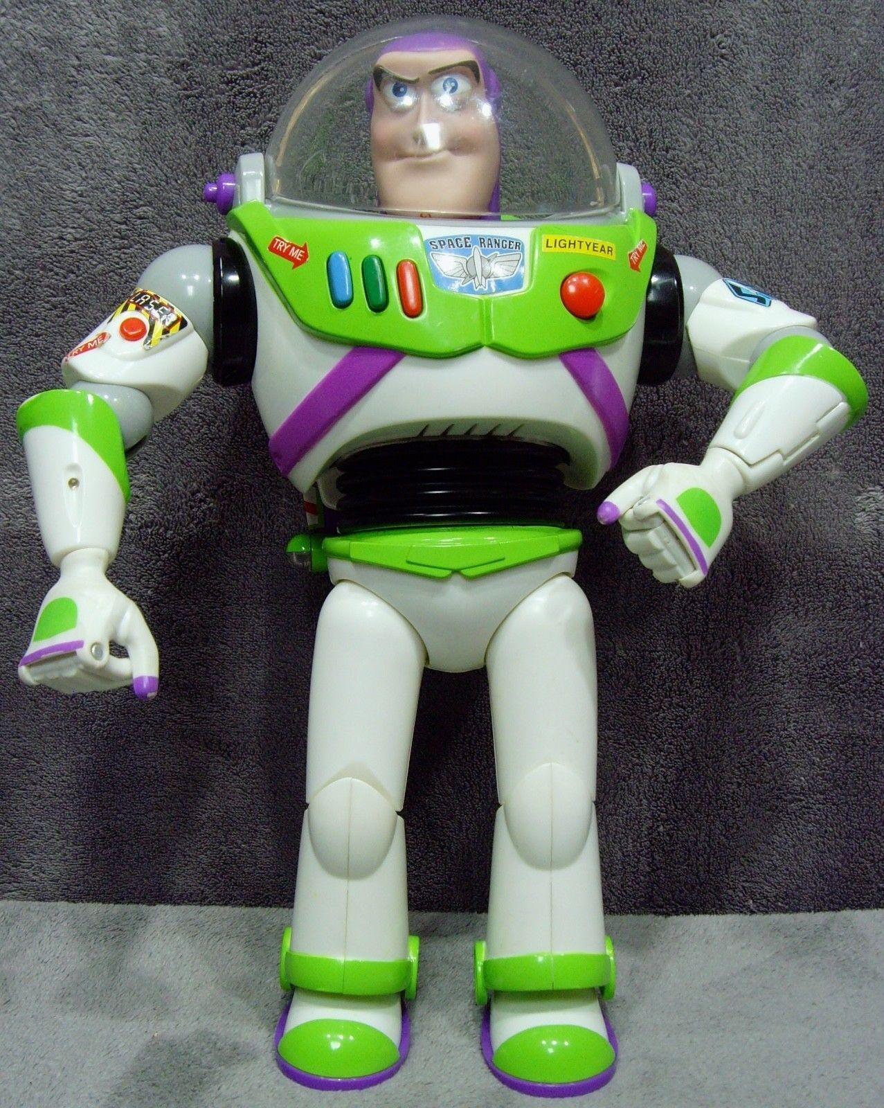 Disney/Pixar•Accessories Advanced•Talking Buzz Lightyear•12 inch Action Figure
