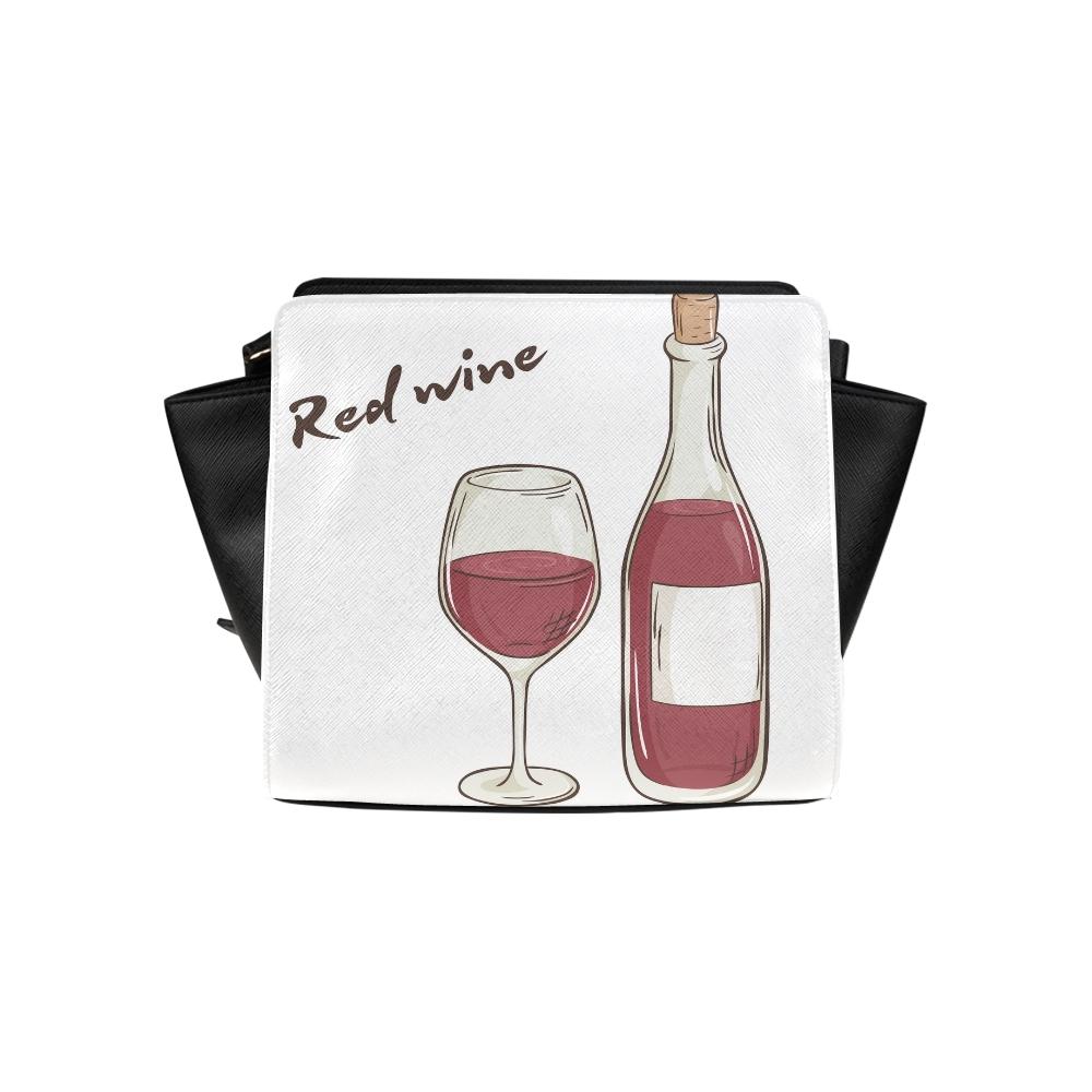 Champion Drink: Red Wine Champion Drink Cheers Satchel Bag Crossbody Bags