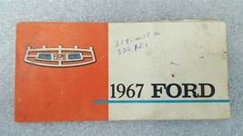 FORD PASS 1967 Owners Manual 15775 - $16.88