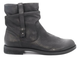 Women's Abeo Yasmin Black  Leather Booties Size US 10 Neutral Footbed()5731 - $120.00