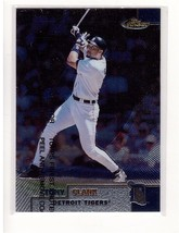 1999 Topps Finest #10 Tony Clark Detroit Tigers Collectible Baseball Card - $0.99