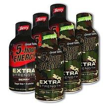 5 Hour Energy, 6 Extra Strength Berry + 6 Extra Strength Sour Apple 12 C... - $33.99