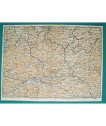 AUSTRIA Alps Steyr Sankt Gallen Leoben Gmunden & Environs - 1931 BAEDEKE... - $13.05