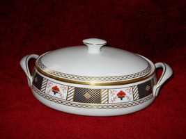 "Royal Crown Derby "" DERBY BORDER "" Covered serving bowl - $168.25"