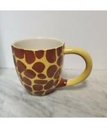 Coffee Cup Mug Pier 1 Giraffe Peek a Boo Surprise in the Bottom Small Ni... - $12.86