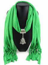 Charms Scarf jellery pendant Scarf Scarves lace Scarf image 6