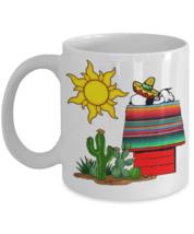 Snoopy Siesta Beagle Sleepytime 11 oz White Ceramic Coffee Mug.Charlie Brown Joe - $14.99