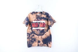 Vtg Mens Medium Boston Red Sox Baseball Spell Out Acid Wash Short Sleeve... - $34.60