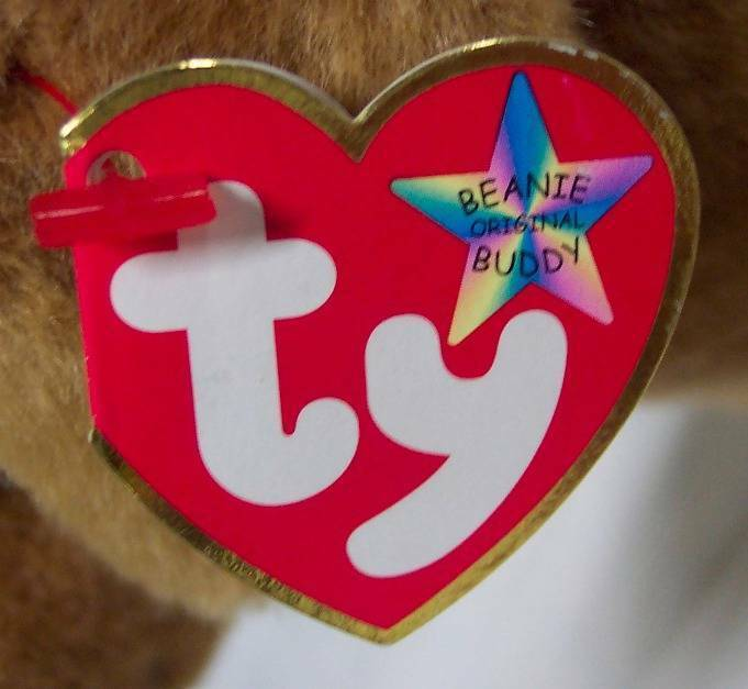 TY Beanie Buddy TAN WEENIE THE WEINER DOG DACHSHUND Plush STUFFED ANIMAL Toy NEW