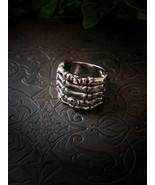 Voodoo Djinn of Baron Samedi Ring Powerful Black Paranormal Loa Magick H... - $99.99