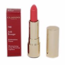 Clarins Joli Rouge LONG-WEARING Moisturizing Lipstick 3.5G #740 NIB-443581 - $24.26