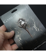 Hot Game of Thrones Hand of The King Silver Plated Pin Brooch With Card ... - $9.99