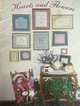 Hearts and Flowers Sue Hillis Counted Cross Stitch Pattern Booklet Love ... - $3.00