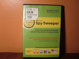 Webroot Software Spy Sweeper Service Desk Edition - $7.26