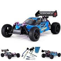 Nitro Powered RC Buggy Kids Adult Toy Fuel Starter Kit 1/10 Radio Contro... - $251.42
