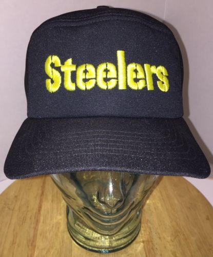 c1ad7dd159f1d Vintage 70s 80s Pittsburgh Steelers Black and 50 similar items