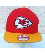 Kansas City Chiefs*New Era* SnapBack Football Hat Sz Medium - $9.49