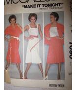 7090 Vintage Mccalls Patron Couture Haut Caraco Jupe - $6.29