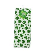Saint Patrick's Shamrock Polyester Hand Towels 15 x 25-in. Set of 2  - $7.00