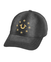 True Religion Men's Metallic Embroidered Star Logo Cap Sports Strapback Hat image 4