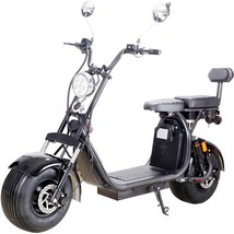 MotoTec Knockout Electric Scooter 60v 2000w 36Ah Lithium Battery 25MPH 3... - $1,500.00