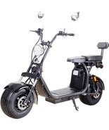 MotoTec Knockout Electric Scooter 60v 2000w 36Ah Lithium Battery 25MPH 30 Miles - $1,500.00