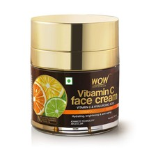 WOW Skin Science Vitamin C Face Cream - Oil Free, Quick Absorbing 50ml - $19.99