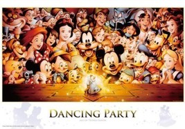 NEW Jigsaw Puzzle Disney Dancing Party 1000 Pieces 51x73.5cm from Japan F/S - $43.08