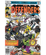 The Defenders Comic Book #59, Marvel Comics 1978 FINE-, NEAR UNREAD - $2.99