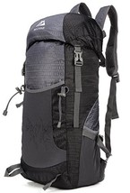 Mozone Large 45l Lightweight Travel Water Resistant Backpack/foldable (Black) - $31.30