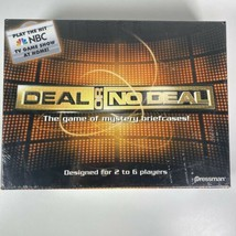Deal Or No Deal Mystery Briefcase Board Game Pressman NBC TV Game Show 2... - $26.76