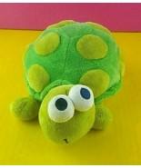 "Small Wonders Plush Turtle 9"" Stuffed Animal Baby Toy Soft #A37 - $4.95"