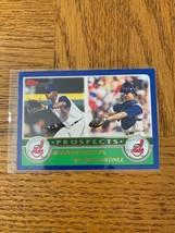 Topps 675 Brandon Phillips & Victor Martinez Card - $10.77