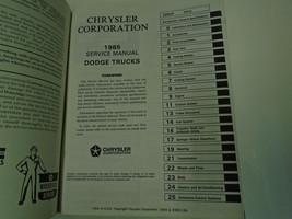 1985 Dodge Ramcharger DW 150 250 350 DIESEL Truck  Service Shop Repair M... - $59.35